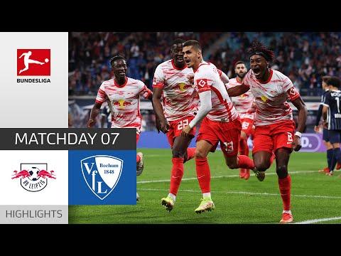 RB Leipzig Bochum Goals And Highlights
