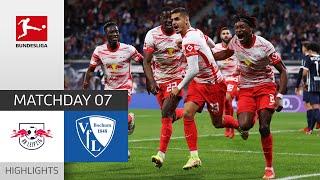 RB Leipzig VfL Bochum 3 0 Highlights Matchday 7 Bundesliga 2021 22