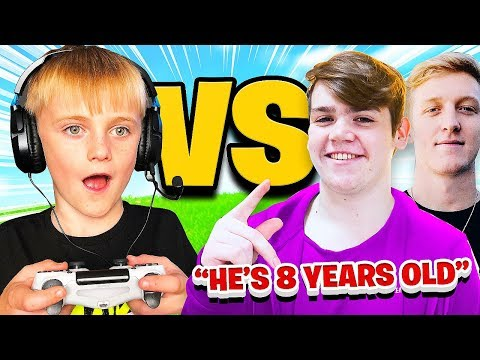 This 8 Year Old is Better than FaZe Mongraal & Tfue at Fortnite