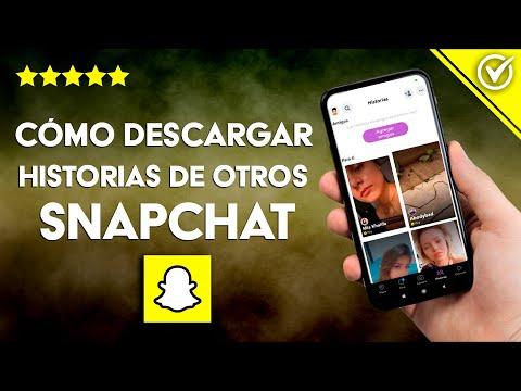 Cómo Descargar Fotos, Vídeos e Historias de otras Personas en Snapchat