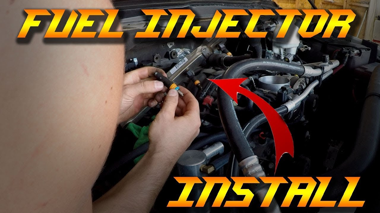 2012 dodge charger fuel injector location