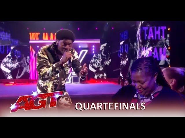 Joseph Allen: Singer Rapper Performs HEARTFELT Song To His Mom   Americas Got Talent 2019