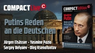 Putins Reden an die Deutschen - COMPACT Live