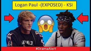 LOGAN PAUL EXPOSED KSI (FOOTAGE) #DramaAlert