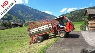 Gras oprapen | AEBI TP.47 S | Grass silage | Mayrhofen | Zillertal | Tirol | Austria.