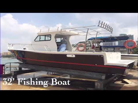 Fibreglass Fishing Boat Builder In Kota Tinggi Johor Malaysia