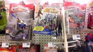 Toys On The Shelf - January 7th 2014 - Pharmacy with Star Wars, Transformers, Hot Wheels