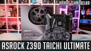 aSRock Z390 Taichi Ultimate - обзор материнской платы