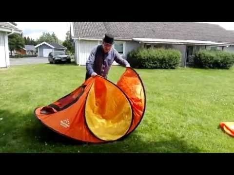 Nykomna Hur du viker ihop ett Pop up tält - YouTube OW-03