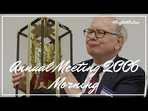 2006 Berkshire Hathaway Annual Meeting Morning Session | War