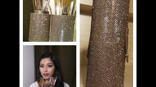 bh cosmetics shimmering bronze brush set