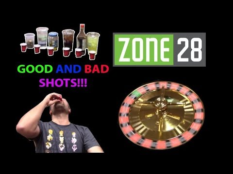ARCADE GAME DRINK ROULETTE CHALLENGE! LOSER DOES SHOTS! | JJ