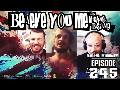 Bisping interviews Sean O'Malley - Highlight from BYM 245