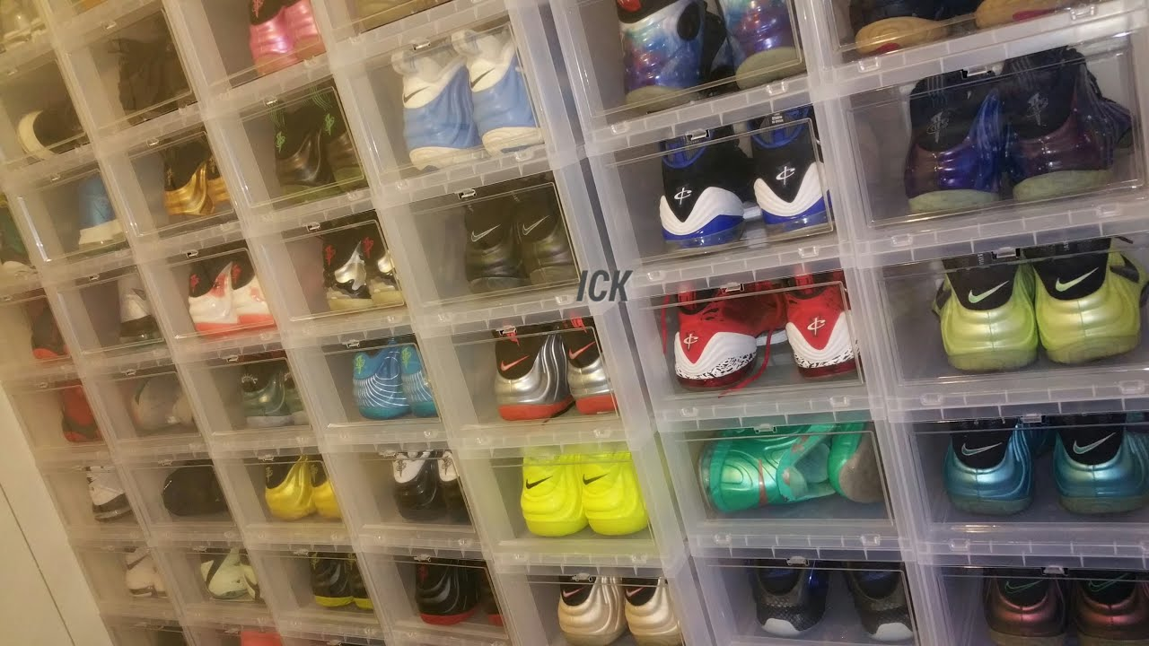 Attractive SNEAKER COLLECTION: STORAGE/DISPLAY TIPS   YouTube Design