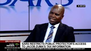 SARS restricts Public Protector's access to Zuma's tax papers: Levy Ndou