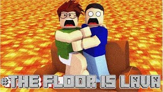 THE FLOOR IS LAVA - CHALLENGE - Roblox