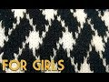 (Girls) New Knitting pattern Design #117 2018