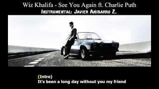 Wiz Khalifa - See You Again feat. Charlie Puth (Karaoke) (Instrumental: Javier Anibarro Z.)
