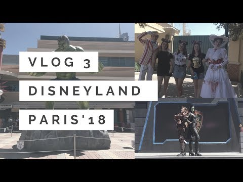 DLP Vlog Day 3 | Marvel Summer of Superheroes Shows | Meeting Mary & Bert | And More!