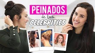Peinados fáciles de las celebrities más rápidos de hacer | Patry Jordan