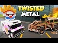 TWISTED METAL APOCALYPSE BATTLE! - Brick Rigs Multiplayer Gameplay - Lego Battle challenge