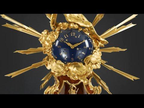 The Linke Grand Regulator Clock from M.S. Rau Antiques