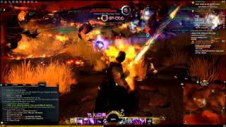 Guild Wars 2 Gameplay  (80 Mesmer) - Attack on Lion