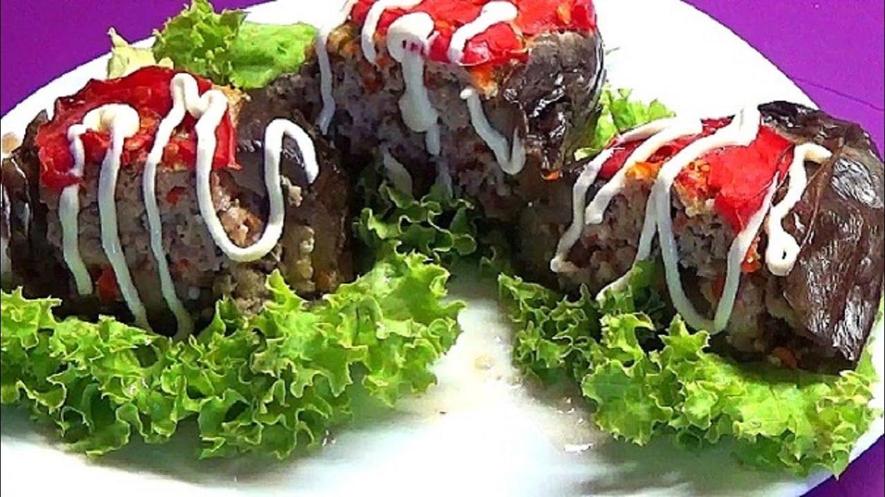 Рецепт Вкусных и Сочных баклажанов в духовке  Так гораздо меньше возни с ними