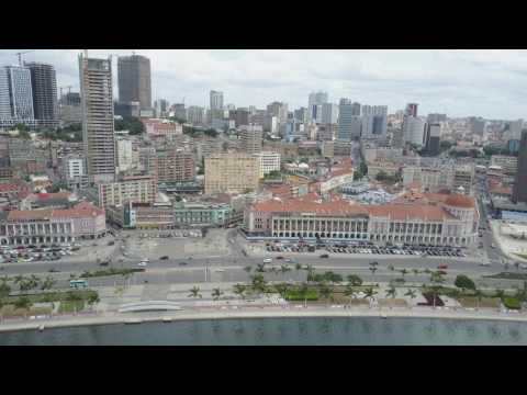 Mavic Pro - Luanda Bay @ Angola 4k RAW #02
