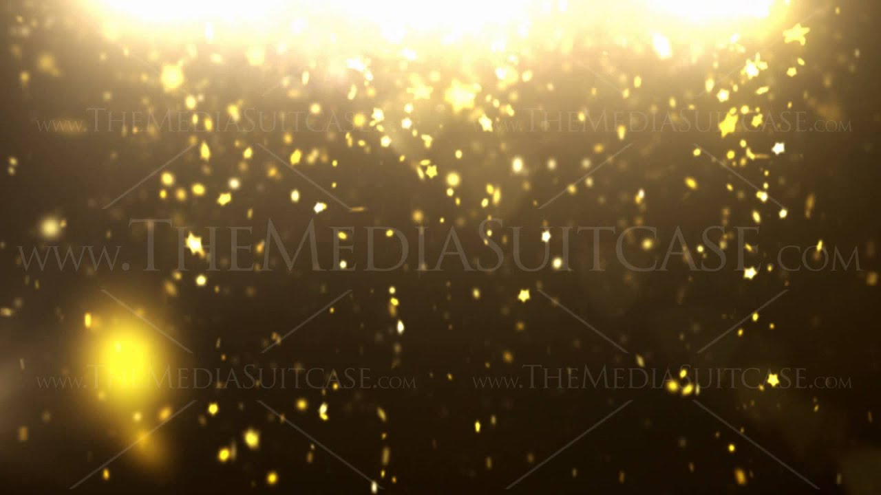3d Live Wallpaper For Galaxy Y Sparkle Dust Background Loop Gold Stars Hd Youtube