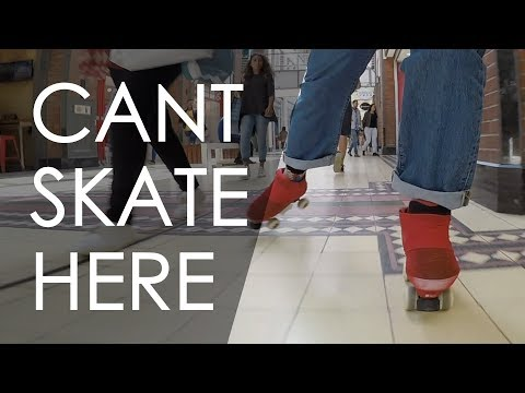 ROLLER SKATING INSIDE THE MOST POPULAR MALL IN CAPE TOWN , SOUTH AFRICA