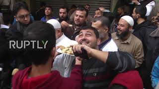 State of Palestine: Gazans celebrate Lieberman's resignation thumbnail
