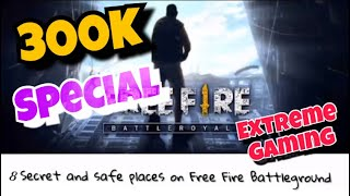 8 Secret and Safe places on Free Fire 🔥 that can help you to win the game