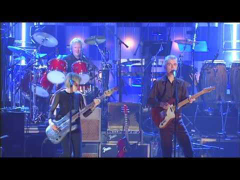 "Talking Heads Perform ""Psycho Killer"" at the 2002 Inductions"