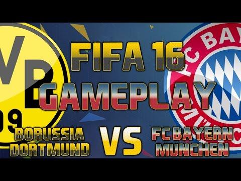 FIFA 16 Gameplay   Borussia Dortmund vs FC Bayern München   [FIFA 16 Gameplay Deutsch HD]