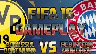 FIFA 16 Gameplay | Borussia Dortmund vs FC Bayern München | [FIFA 16 Gameplay Deutsch HD]