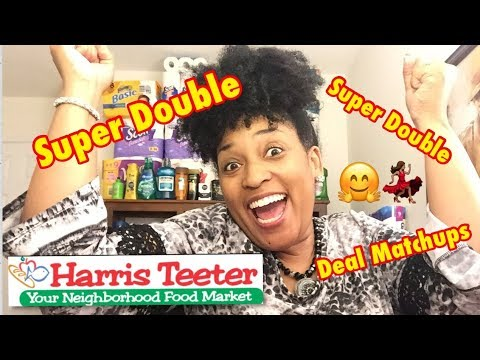 HARRIS TEETER SUPER DOUBLE DEAL MATCHUPS