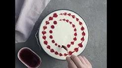 Näin teet kakkuun sydänkoristelut