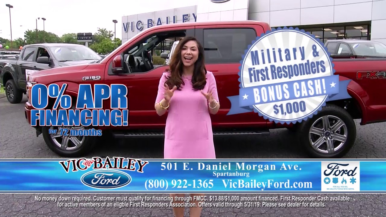 Ford First Responder >> Military And First Responders Appreciation Bonus Cash