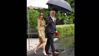 News!, Trump defends first lady Melania