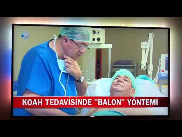 Prof. Dr. Yalçın Karakoca Koah'da Balon Tedavisi
