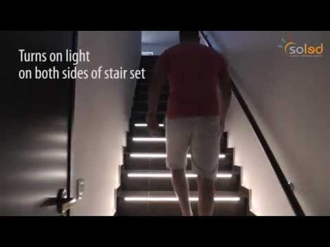 How to illuminate your stairs - SCR-2 as Intelligent stairs lighting controller