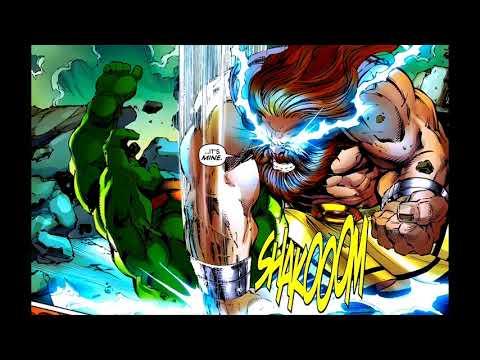 HULK vs. ZEUS - Can Hulk defeat a Sky-Father? Narrative Analysis