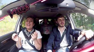 فريق حماقي يمزج اغاني المدربين ضمن Koleos karaoke