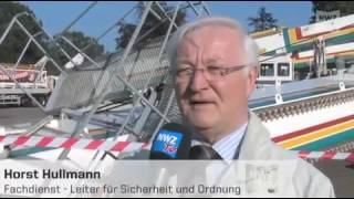 Oldenburg: Unfall beim Abbau des Riesenrades