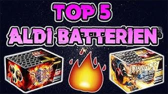 TOP 5 ALDI FEUERWERK BATTERIEN | Silvester2k