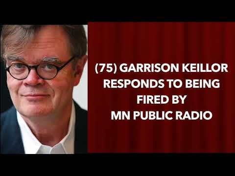 Garrison Keillor Responds To Being Fired By MN Public Radio