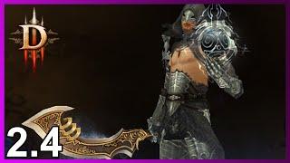Diablo 3: Чародей с вихрями в