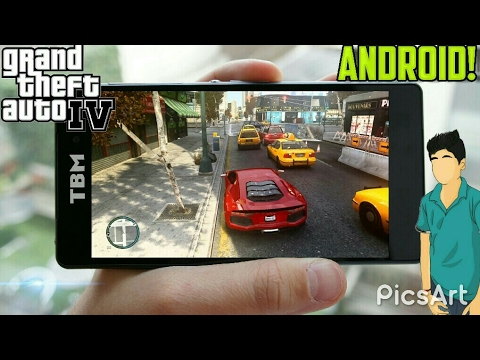 download gta iv android apk  data