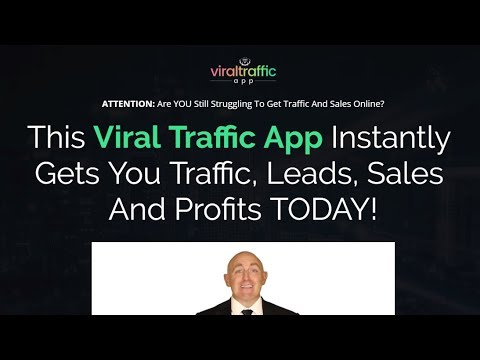 """""""Viral Traffic App"""" + $109 Prize Contest"""